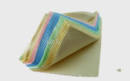 14CMx14cm Colorful microfiber eyeglasses cleaning cloth eyewear glasses lens Camera lens cleaning cloth 100pcs lot
