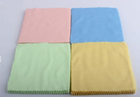 Wholesale 14CMx14CM Colorful Microfiber Cleaning Cloth for LCD Screen Tablet Phone Computer Laptop Cloth Glasses Lens Eyeglasses Wipes Clean Cloth