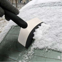 Wholesale EMS Auto Vehicle Car Emergency Ice Stainless Snow Shovel Scraper Removal Clean Tool K07589