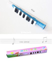 Wholesale 13 Keys Note Melodica Portable Mouth Organ Early childhood musical instruments BEE brand children