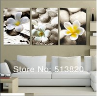 Classical   3 Panel Free Shipping Hot Sell Modern Wall Painting abstract Home Wall Art Picture Paint on Canvas Prints art orchid