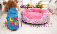Wholesale 20pc Beautiful Dogs Love Clothes Pet Sweater Coat shirt dog Hoodie Jacket XS S M L gift P23