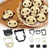 Set cutting die - Panda Die Cut Cake Creative Cookie Biscuit Cheese Vegetable Food Cutter Mold