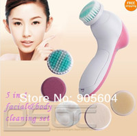 Wholesale Hot selling Fashion in Electric Sonic Facial amp Body Spa Brush Cleaning System Skin Care massager