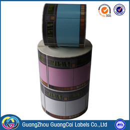 Wholesale HOT Hign Quality Low price Customizable Design Colored Paper Labels
