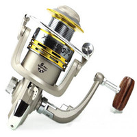 Saltwater   New Arrival Ball Bearing Left Right Interchangeable Collapsible Handle Fishing Spinning Reels High Speed 5.1:1 free shipping