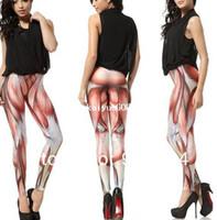 Wholesale Fashion Celeb Design Sexy Muscles Women Leggings Universe Galaxy Elasticity Long Pants Lady Girls Ruffle