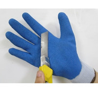 Safety Gloves   Glue gloves industrial gloves work gloves dipping dip wear-resistant slip-resistant