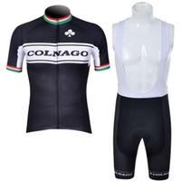 Wholesale 2012 Colnago Short Sleeve Cycling Jersey and Cycling Bib Shorts Kit Summer Cycling Clothing Black SIZE S XXXL