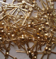 Wholesale mm chrome gold butterfly buckle tie clips metal connectors for lamp chandelier amp curtain