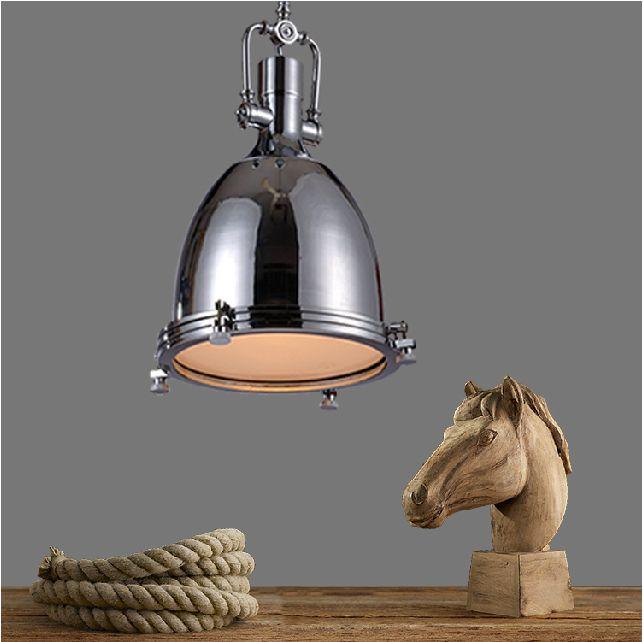 Kitchen Pendant Lighting Metal : Rh loft vintage pendant lighting retro jobs lights