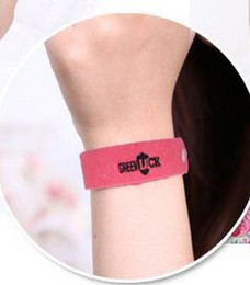 Fashion Hot Mosquito Repellent Band Bracelets Anti Mosquito Pure Natural Baby Wristband Hand Ring