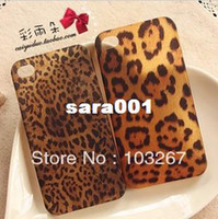 Universal other Yes Free shipping New Leopard Print Hard Back Cover Case for iPhone 4 4S (Multi-Color)