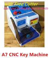 key duplicating machine - DHL CNC A7 Key Cutting Machine cnc key Duplicate Equipment Brand New CNC Key Device with Cutter Genuine SoftWare Check Teeth