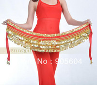 Wholesale Belly dance apparel popularity Special Hot coins waist chain belt shine decoration