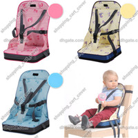 Portable booster seat - Portable Folding Baby Child Kid Toddler Infant Boy Girl Travel Diner Feeding High Chair Booster Seat Cover Safety Harness Cushion Bag