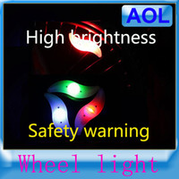Wheel Lights bicycle led spoke lights - Bike Bicycle Cycling Wheel Spoke Tire Wire Tyre Bright Waterproof LED Light Lamp Bike Lights LED Flash alarm Light Green Blue Red Colorful