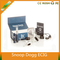 Wholesale Ecigarette Gax Dry Herb Vaporizer tobacco Solid wax oil Electronic Cigarette Kit Snoop Dogg