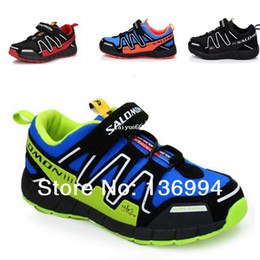 Wholesale 2014 Salomon child sport shoes boys and girls sneakers casual shoes children s running shoes for kids shoes size