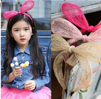 Silk animal tires - 2014 Children s Hair Accessories The Rabbit Tire Girl Hair Sticks SY