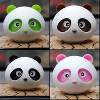 Wholesale free shinppingPanda Panda perfume car perfume fragrance perfume car air freshener car seat upholstery doll ornaments