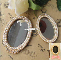 Cheap Min.$15 (Mixed Order) Alloy Pearl Mirror Cell Phone DIY Alloy Decoration With Free Shipping