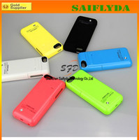 Wholesale 2200mah battery case for iphone G S backup external battery charger cover with stand