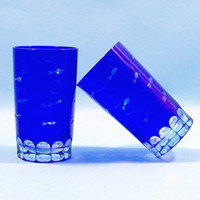 Wholesale Man Blown Crystal Tea Cup Juice Glass Beer glass Water Cup Drinking Glass Tea set