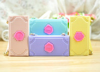 Wholesale New Style Candies Phone case Handbag Silicone Case Cute Flip Cover For iPhone s s