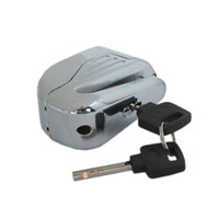 brake disk - Free Ship from USA Zinc Alloy Motorcycle Alarm Lock Disk Brake Locks Silver Safe Lock keys