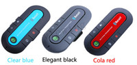 Wholesale HandsFree Bluetooth Multipoint Speakerphone Handsfree Car Kit W Sun Visor Clip