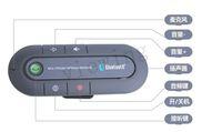 Wholesale HandsFree Bluetooth Multipoint Speakerphone Handsfree Car Kit W Sun Visor Clip