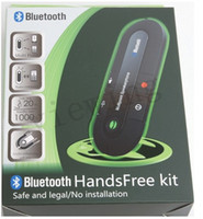 Wholesale Wireless Bluetooth Handsfree Speakerphone Car Kit With Car Charger Bluetooth Hands free Kit