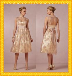 Gold Beach Wedding Gowns