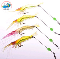best shrimp lure - Best price Metal BaitChong Fung Road Asia with wire hook Bionic luminous shrimp bamboo shrimp lure bait mm gBionic Bait