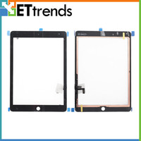 Wholesale For iPad Air Touch Screen Digitizer Assembly for iPad Air Black White Replacement Repair Parts High Quality DHL