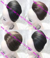 Wholesale Stylish Bridal Hair bun Fashion Women and Girls Hair Magic Buns Clip in Hair Extensions Full hair Chignons Hair Accessory Hot