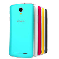 Wholesale 2014 New Original ZOPO ZP580 Dual Core MTK6572 inch M GB Android with G WCDMA GPS Dual SIM Smart mobile phone ZP998