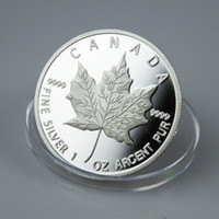 Metal clothing factory - Factory Price Canadian Canada Silver Maple Leaf Coin Silver Clad Coins