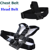 Wholesale Hot Harness Adjustable Elastic Gopro Chest Belt Head Strap Mount Strap with Camera Adapter For Gopro Hero