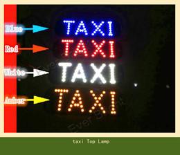 Wholesale 6pcs SMD LED Car Indicator Light Taxi Top Light Lamp indicator light