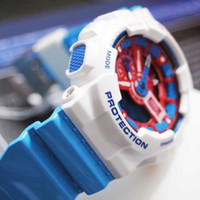 Analog g-shock - New Brand Children Designer Silicone Military Watches Fashion Diving g Led Digital Men sports shock resistant Watch gift
