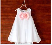 TuTu Summer A-Line Hot sale !2014 New summer korean fashions flower princess dresses children clothing girl dresses