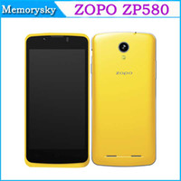 Wholesale High Quality ZOPO ZP580 Android Dual Core MTK6572 inch M GB G GPS Dual SIM Cheap Smart mobile phone
