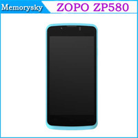 Wholesale Original ZOPO ZP580 Android Dual Core MTK6572 inch M GB G GPS Dual SIM Smart mobile phone Hot Selling Now