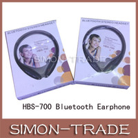 Wholesale Colorful Wireless Headset Bluetooth Headsets In ear Headphone Bluetooth Stereo Headset for Iphone LG Smart Phone HBS