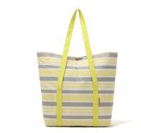 Wholesale 2way used Stripe beach bag shoppingbag handbag totes hobos swimming large volumn B114
