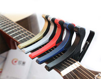 Wholesale EMS Quick Change Trigger Key Capo Acoustic Electric Guitar Clamp