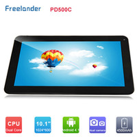 Wholesale 2014 NEW Freelander PD500C Inch Tablet PC Action ATM7021A Dual Core GHz MB GB Dual Camera HDMI OTG pix Point Touch