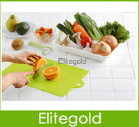Wholesale Kitchen Flexible Antibiotic Resistant Soft Chopping Block Hang Chopping Board cm DHL SHIP